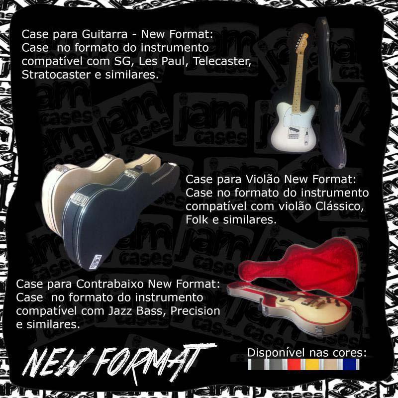 Case para instrumentos sob medida
