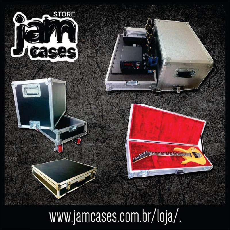 Fábrica de cases para instrumentos musicais em sp